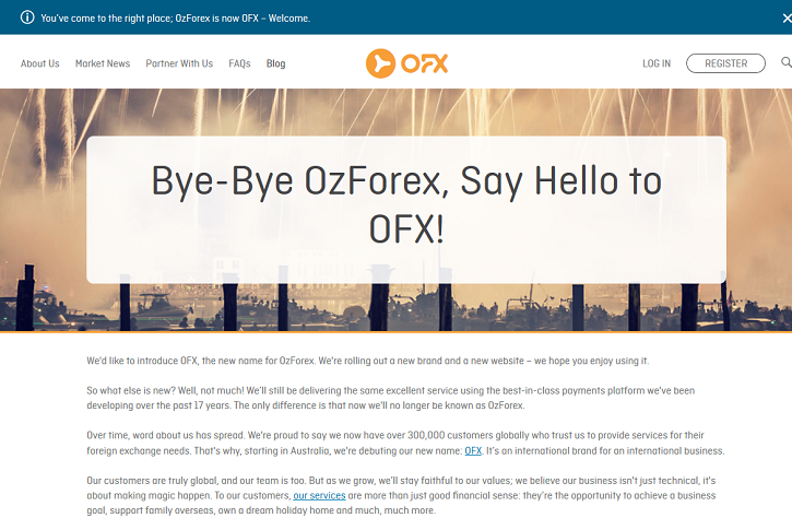Ozforex acquisition