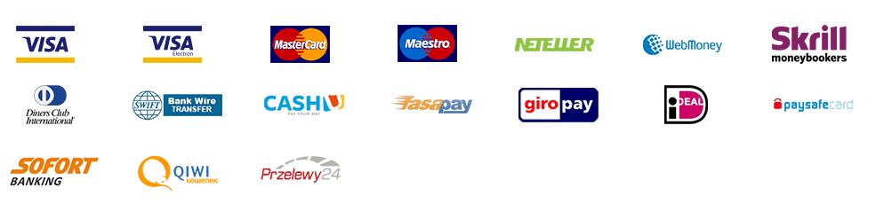 XM payment methods
